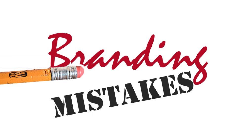 common branding mistakes
