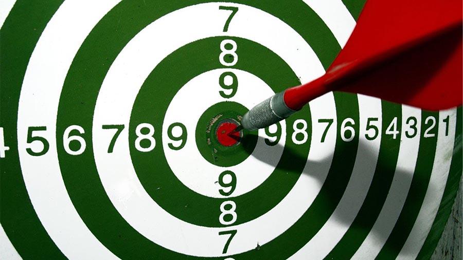 customer is the bullseye