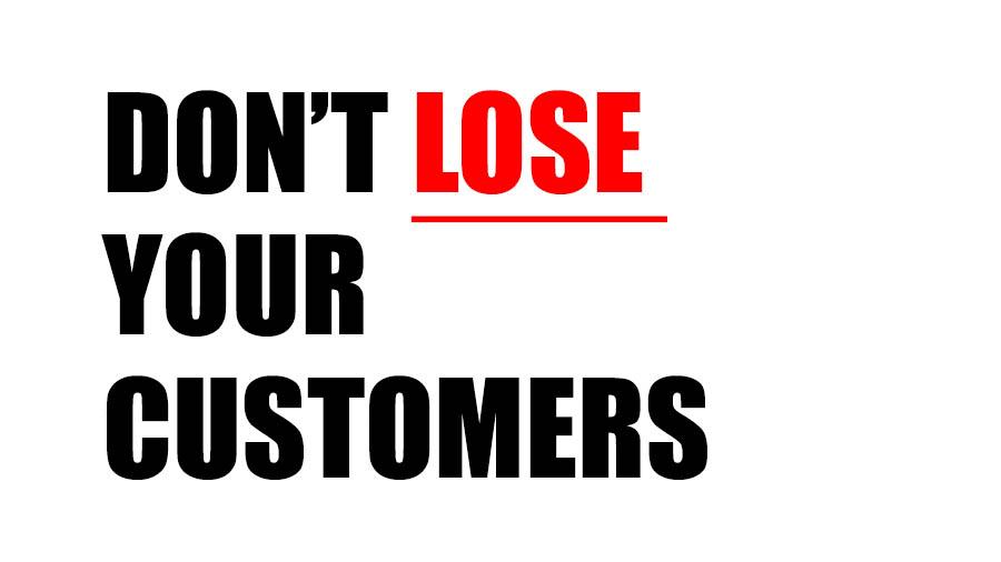 losing customers
